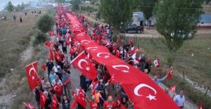 Gökbel Yaylasında Demokrasi Yürüyüşü
