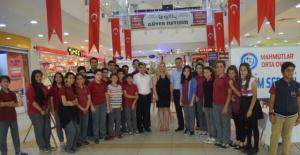 Mahmutlar Ortaokulu Resim Sergisi Açıldı