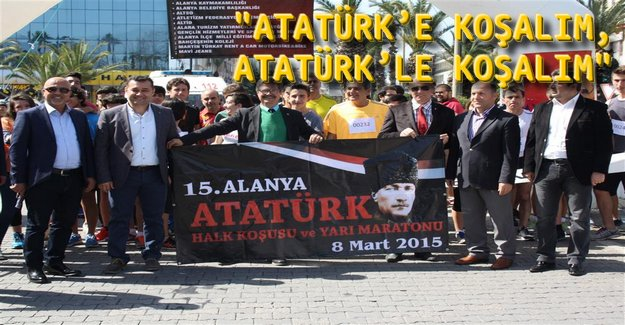 16. Alanya Atatürk Yarı Maratonu ve Halk Koşusu Başlıyor