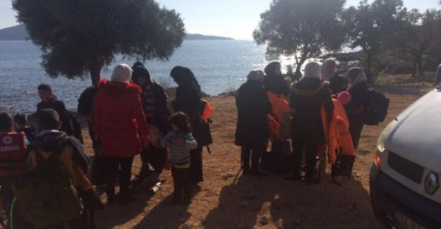 7 Ülkeden Tam 122 Kişi Yurt Dışına Kaçmaya Çalışırken Yakalandı