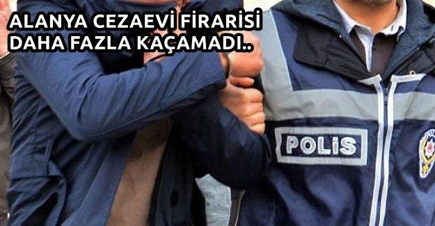 Alanya Cezaevi'nden Kaçtı, Kırklareli'nde Yakalandı