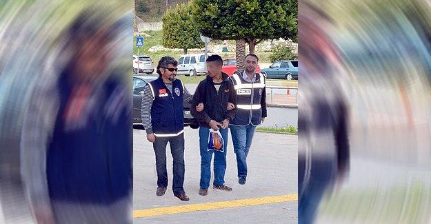 Firari Gaspçı Polise Yakalandı