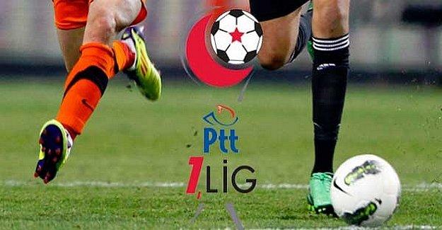 PTT 1. Lig'in 24. Hafta Programı Belli Oldu