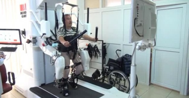 Robogait Cihazı Hastalara Umut Oldu