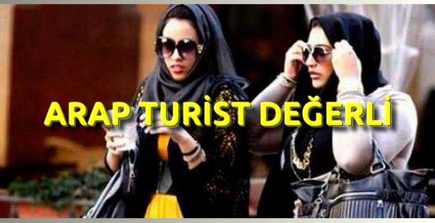 1 Arap Turist 5 Rus Turist Değerinde