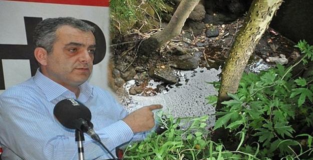 CHP'li Esen'den Alanya'da Çöp Sularının Kaynak Sularına Karıştığı İddiası