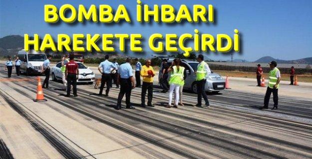 Gazipaşa Havalimanında Bomba Tatbikatı