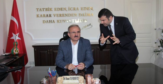 Vali Karaoğlu Alanya'ya Geldi