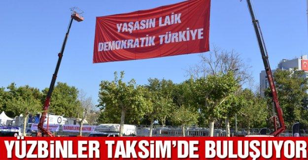 CHP'den vatandaşlara miting çağrısı