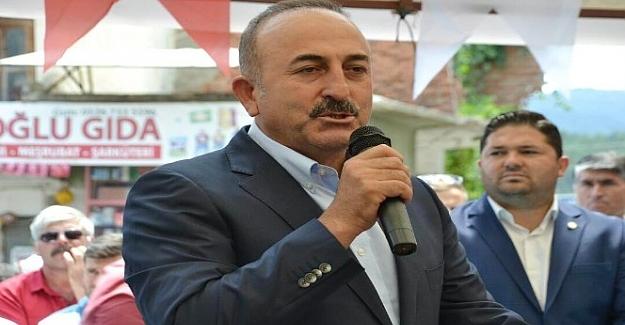 Dışişleri Bakanı Çavuşoğlu: FETÖ şimdi arazide aktif çalışıyor