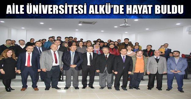 Aile Üniversitesi ALKÜ'de Hayat Buldu