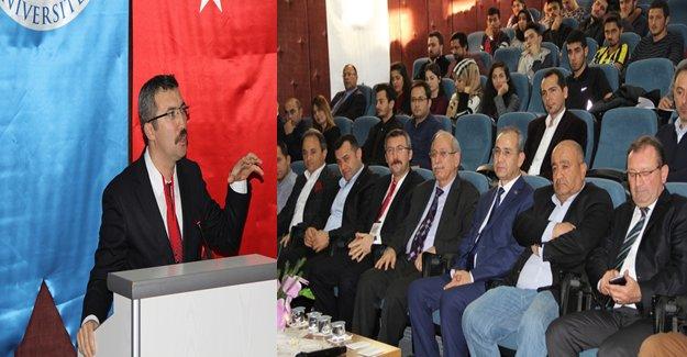 ALKÜ'de Türk Tarih Kurumu Başkanı Konferans Verdi