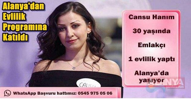 Alanya'dan Evlilik Programına Katıldı