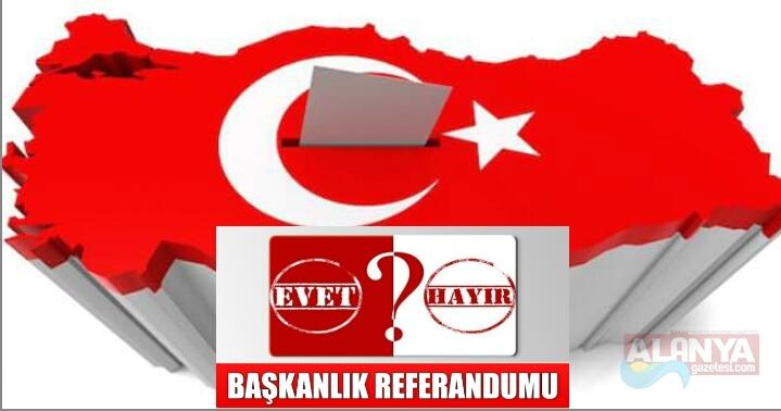 BAŞKANLIK SİSTEMİ REFARANDUM'UN DA 57 ÜLKEDE SANDIK KURULACAK