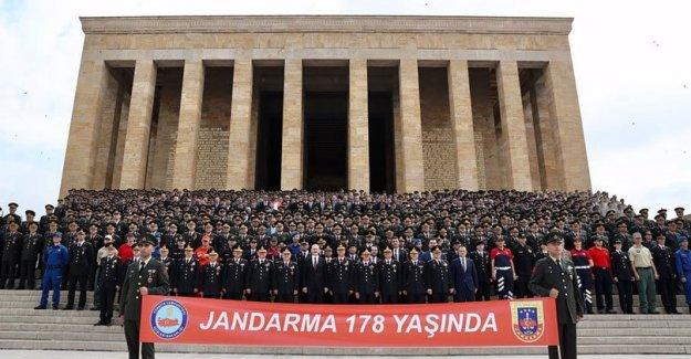 JANDARMA 178 YAŞINDA