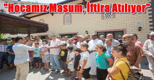 Alanya'da Cemaat Eylem Yaptı