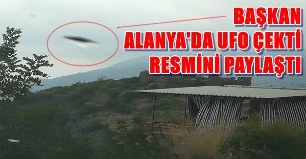 Alanya'da UFO Görüldü