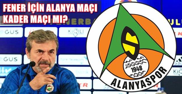 Fenerbahçe'de Alanyaspor Korkusu