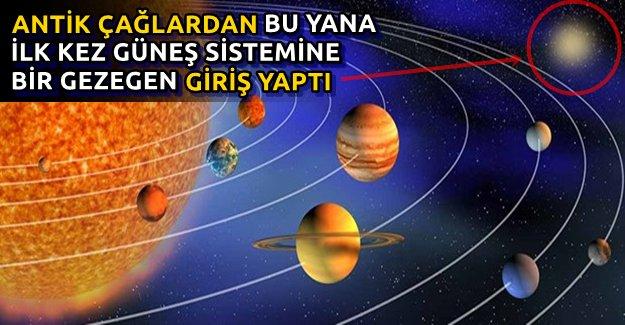 Güneş Sistemi'ne Yeni Gezegen Geliyor