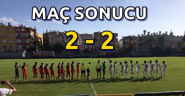 Kestelspor Antalya'dan 1 Puanla Döndü