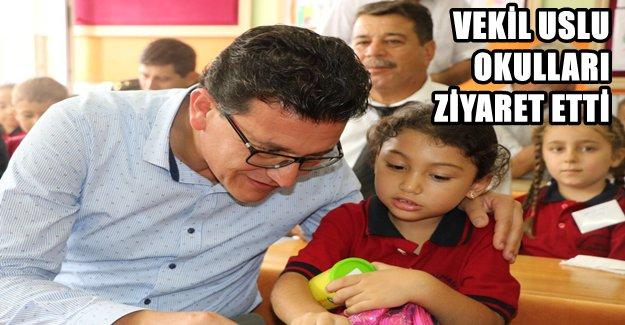 Milletvekili Uslu'dan Okullara Ziyaret