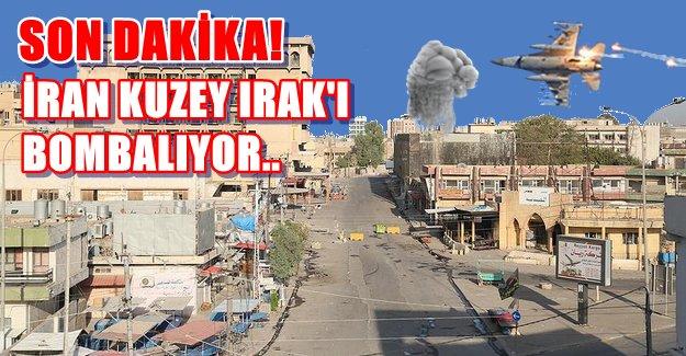 Son Dakika.. İran Kuzey Irak'ı Bombalıyor