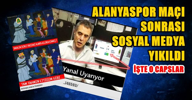 Trabzonspor Alanya'ya Yenildi İnternet Yıkıldı