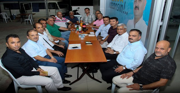 Tuna'nın Seçim Bürosuna Yoğun İlgi