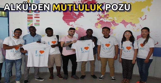 Yabancı Öğrenciler ALKÜ'de Mutlu