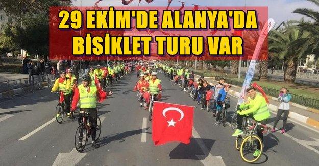 Alanya'da 29 Ekim'de Bisiklet Turu Var