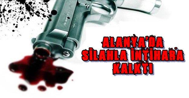 Alanya'da Otelde Silahla İntihara Kalkıştı