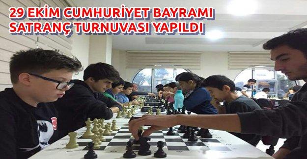 Alanya'da Satranç Turnuvası Gerçekleşti