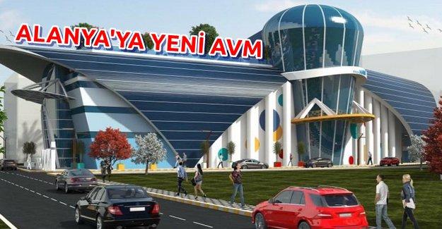 Alanya'ya Yeni AVM Açılıyor