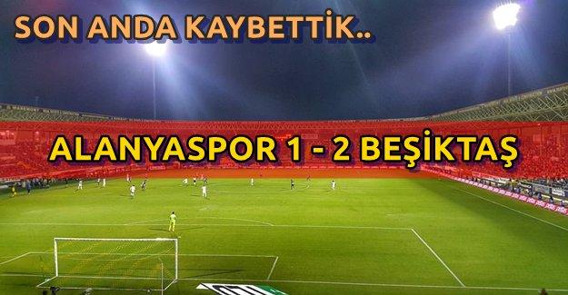 Alanyaspor Beşiktaş Maç Sonucu