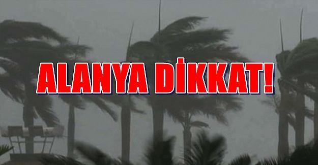 Antalya'da Hava Durumu
