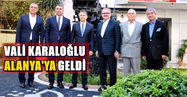 Antalya Valisi Alanya'da