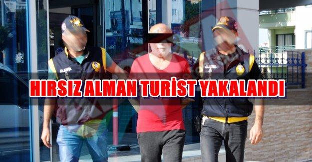 Hırsız Alman Turist Yakalandı