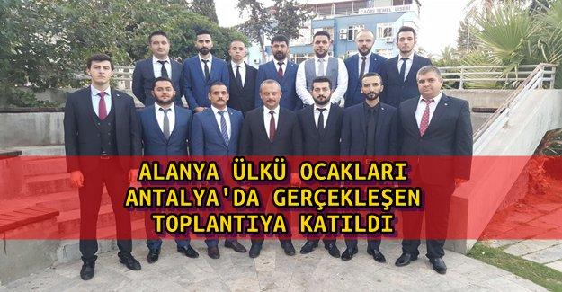 Talimatlar Antalya'da Alındı