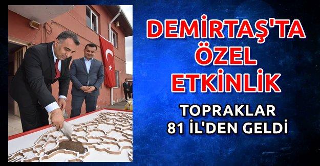 Türkiye Haritasını Toprakla Yaptılar