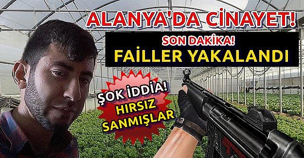 Alanya'daki Cinayetin Failleri Yakalandı