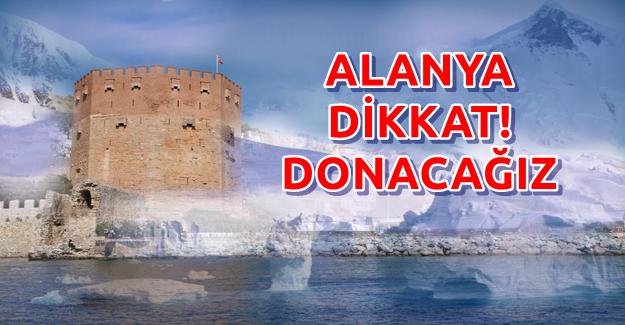 Alanya için Don Uyarısı