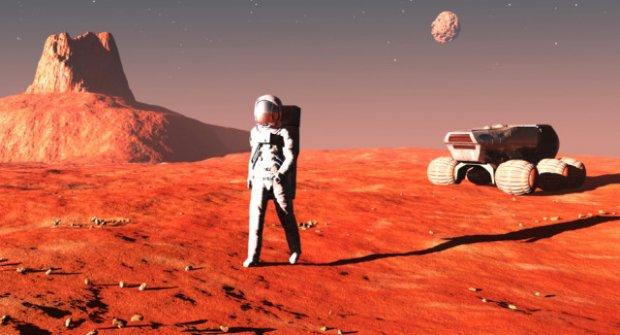Mars Yolculuğu İçin Şimdiden İki Buçuk Milyon Kişi Rezervasyon Yaptırdı