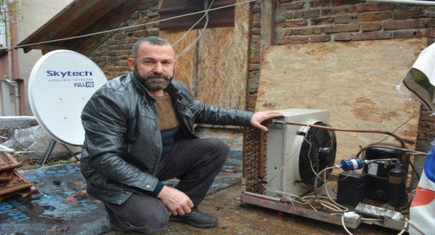 Türk Mucit, Buzdolabı Motoruyla Evi Isıtan Sistem Geliştirdi