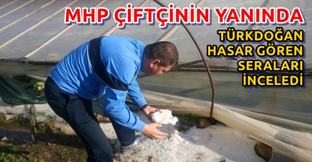 Türkdoğan, Seraları İnceledi