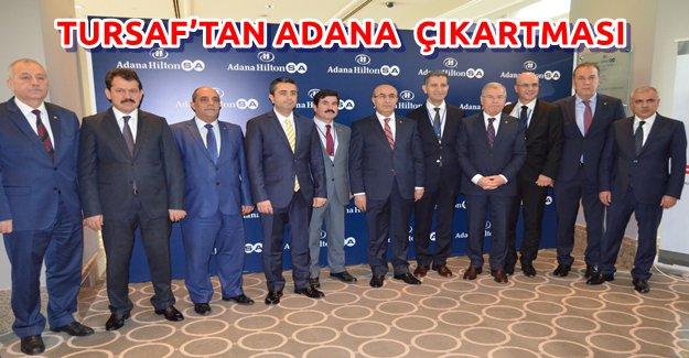 TURSAF'tan Adana Çıkarması