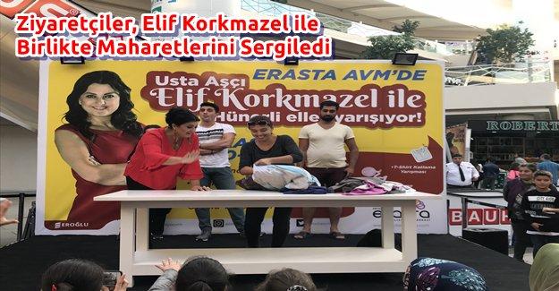 Ziyaretçiler, Elif Korkmazel ile Birlikte Maharetlerini Sergiledi