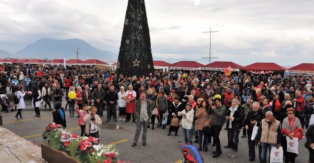8. Uluslararası Alanya Noel Pazarı Kuruldu