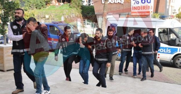 Alanya'da Operasyonla Yakalanan 6 Zehir Taciri Tutuklandı