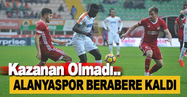 Aytemiz Alanyaspor - Demir Grup Sivasspor Maç Sonucu