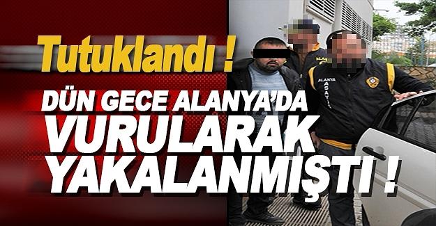 Dün Vurulan Cezaevi Firarisi Tutuklandı